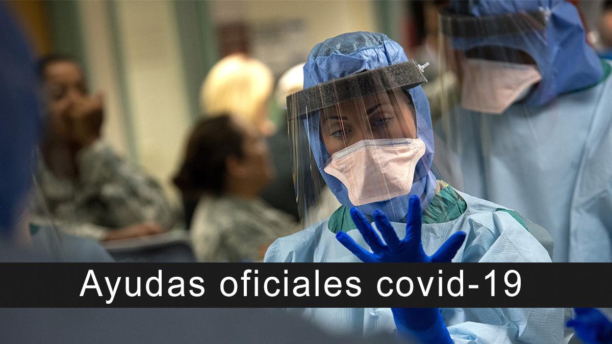 Ayudas oficiales covid-19