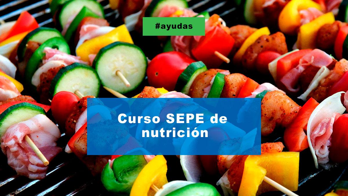 Curso SEPE de nutrición